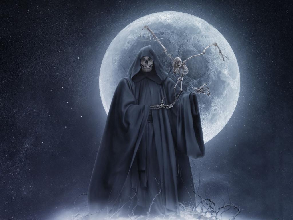 Grim Reaper Wallpaper Desktop Wallpaper 1024x768