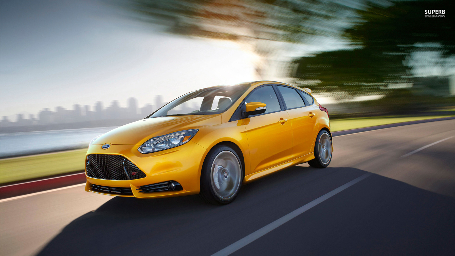 2013 Ford Focus ST wallpaper 1920x1080 1920x1080