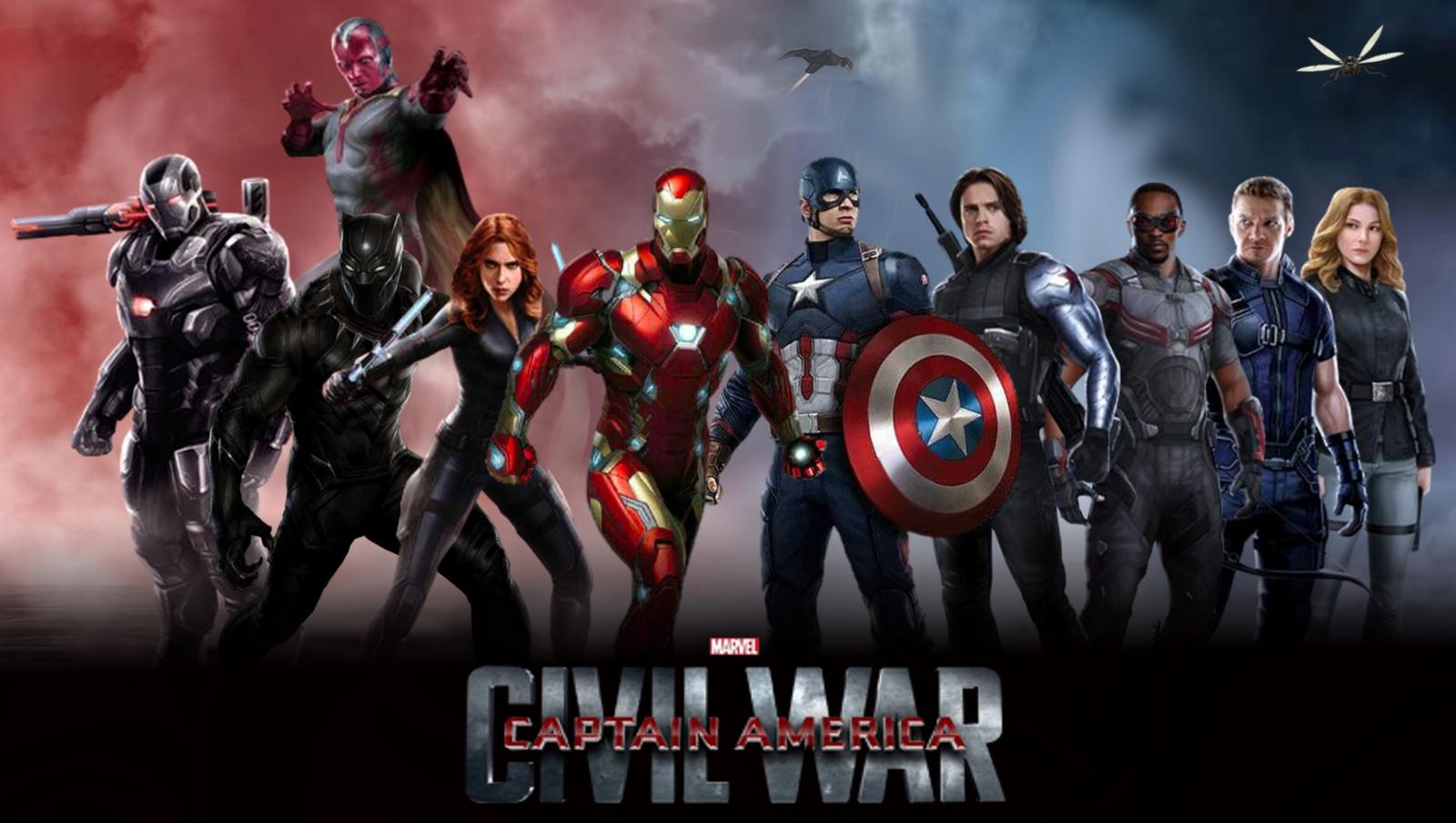 captain america civil war by arkhamnatic watch fan art wallpaper ...