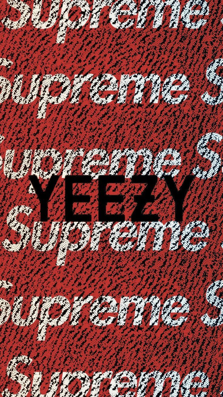 Wallpaper Iphone Adidas 113   Supreme Logo Wallpaper 736x1309