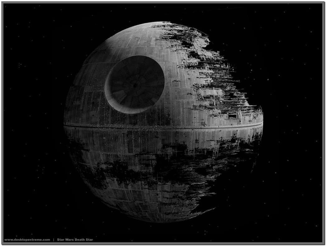 Star wars screensaver death star   Download 1047x791