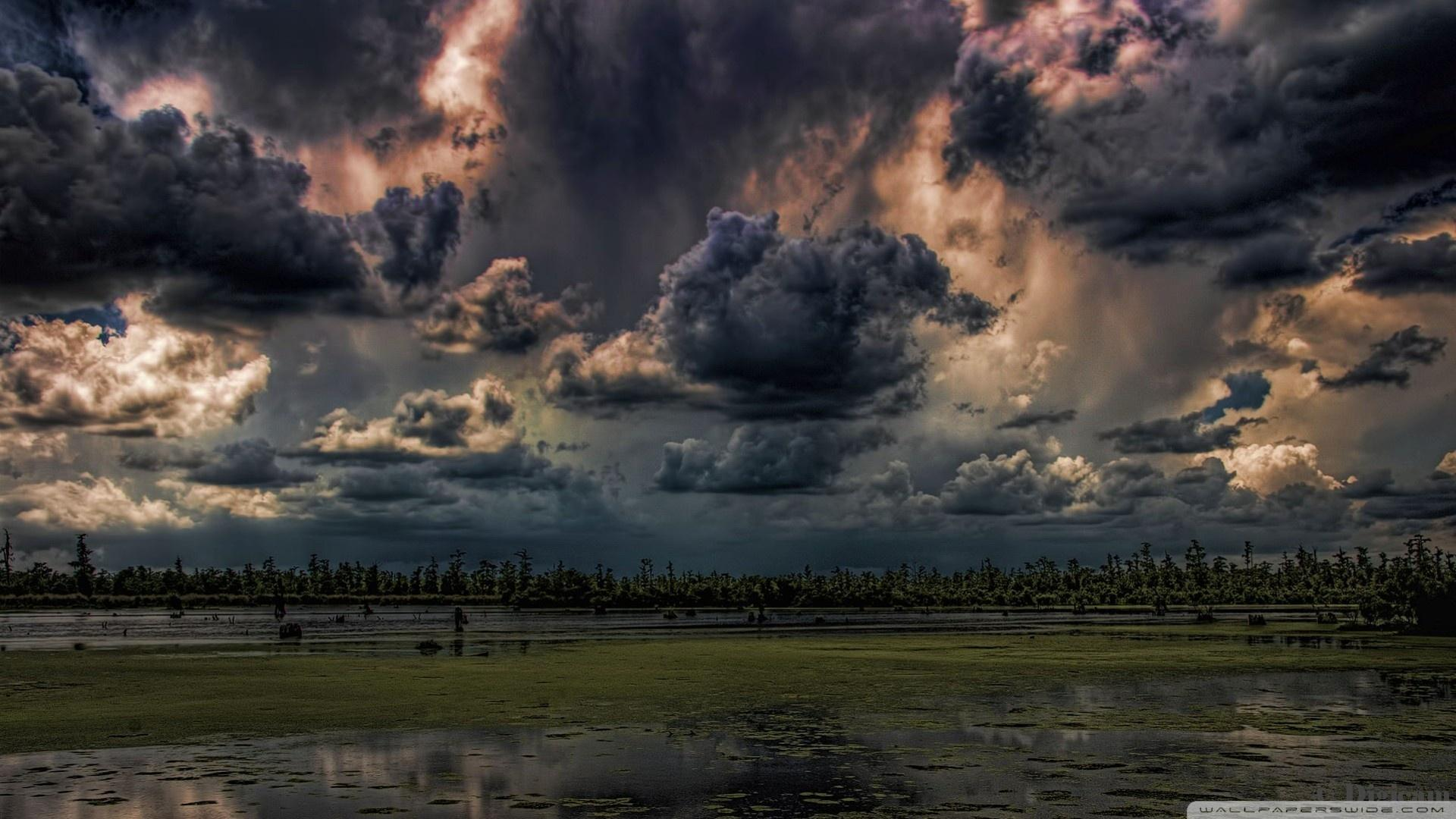 Mean Skies Hdr wallpaper 1920x1080