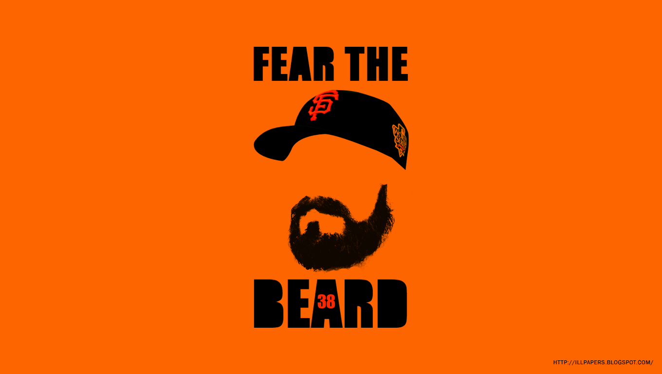 Wallpapers Backgrounds More Brian Wilson Fear The Beard   San 1360x768