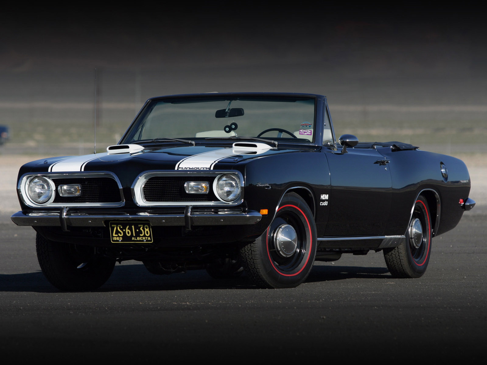 Plymouth Barracuda Classic Car Classic muscle wallpaper 1600x1200 1600x1200