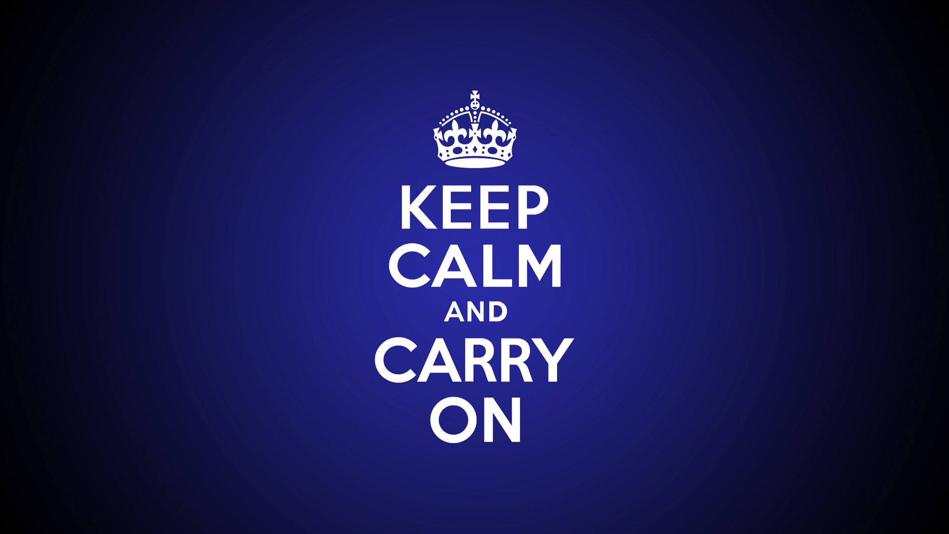9 HD Keep Calm and Carry On Wallpapers 1920x1080