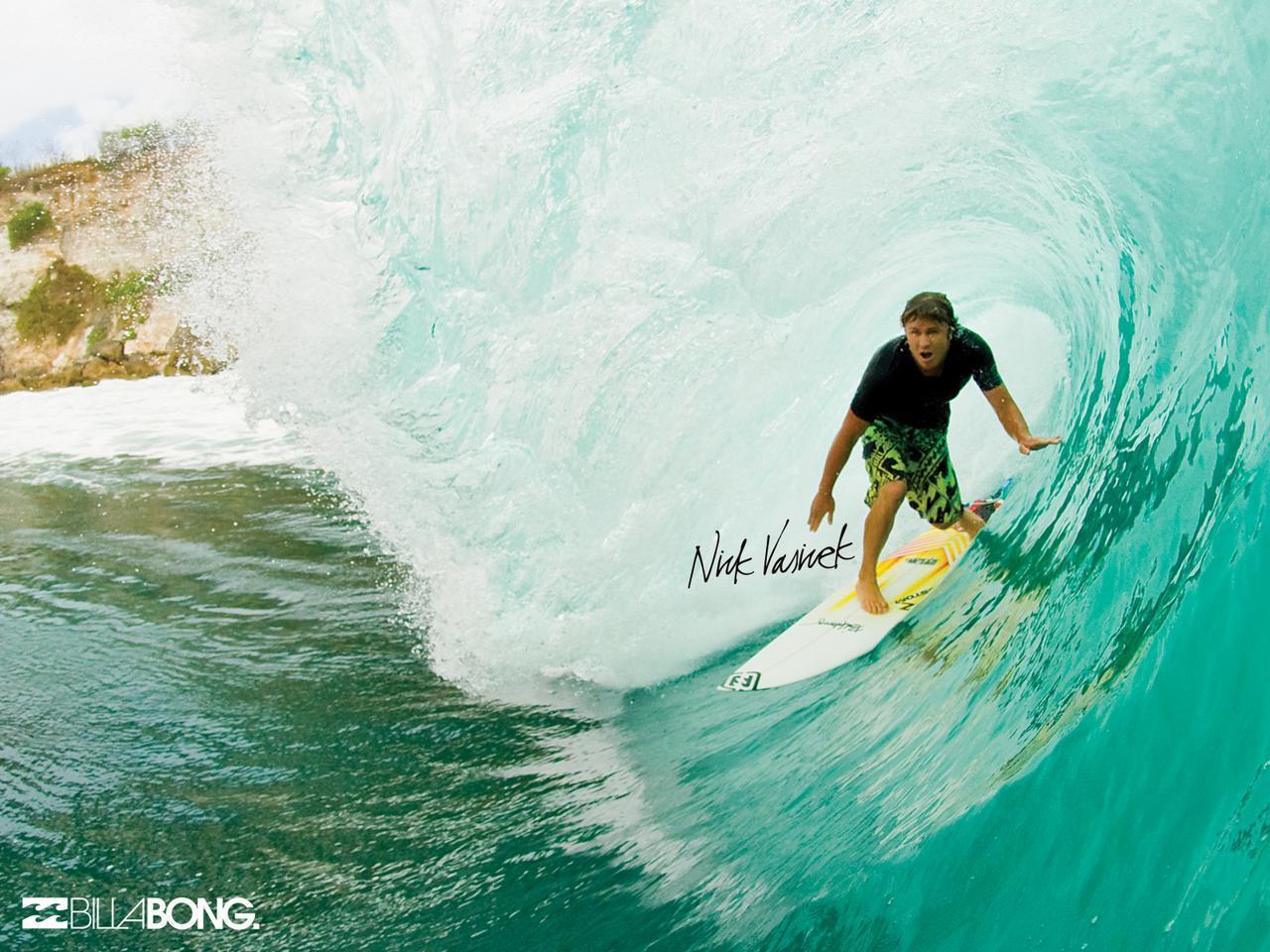 Billabong Surfing Wallpaper 1280x960