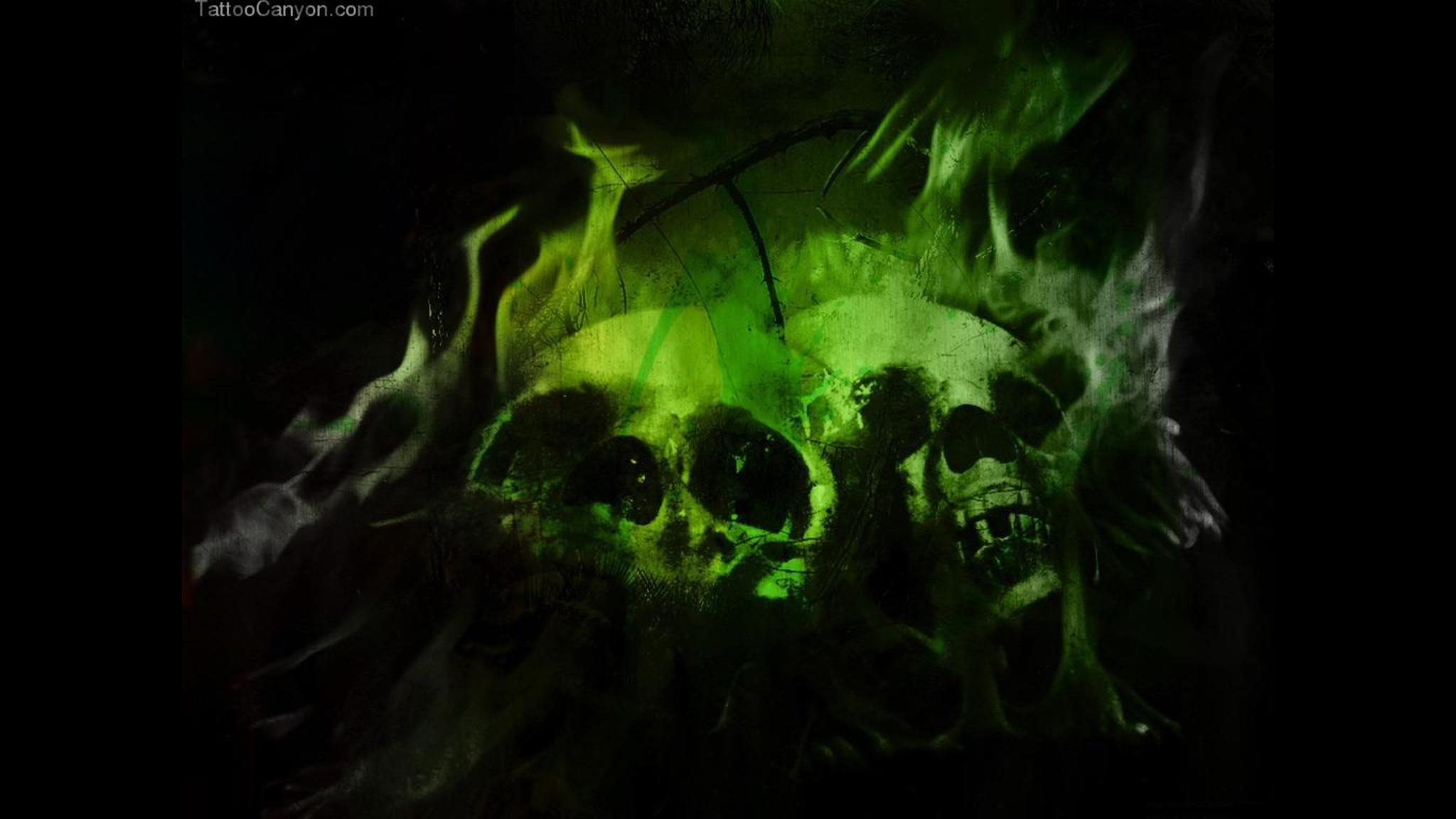 Download Flaming Skull Wallpaper Pictures 1032 X 774 231 Kb Jpeg 2048x1152