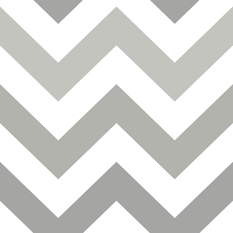 Amazoncom NuWallpaper NU1934 Zig Zag Grey Peel and Stick 1500x1500