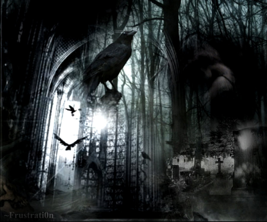 Gothic Style Wallpaper By Frustrati0n 900x749