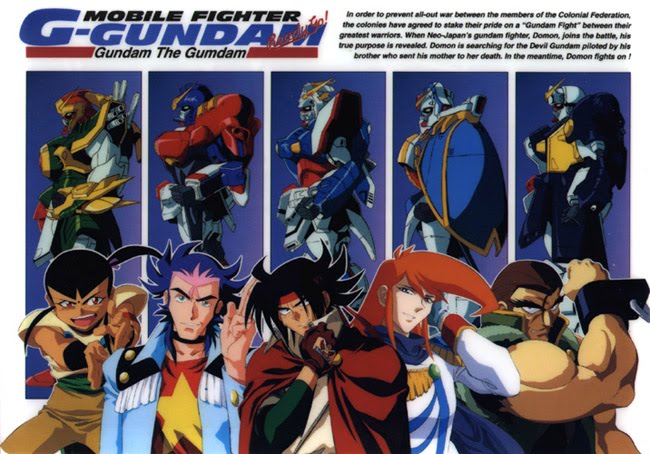 Mobile Fighter G Gundam Legal Stream Now Available via GundamInfo 650x454
