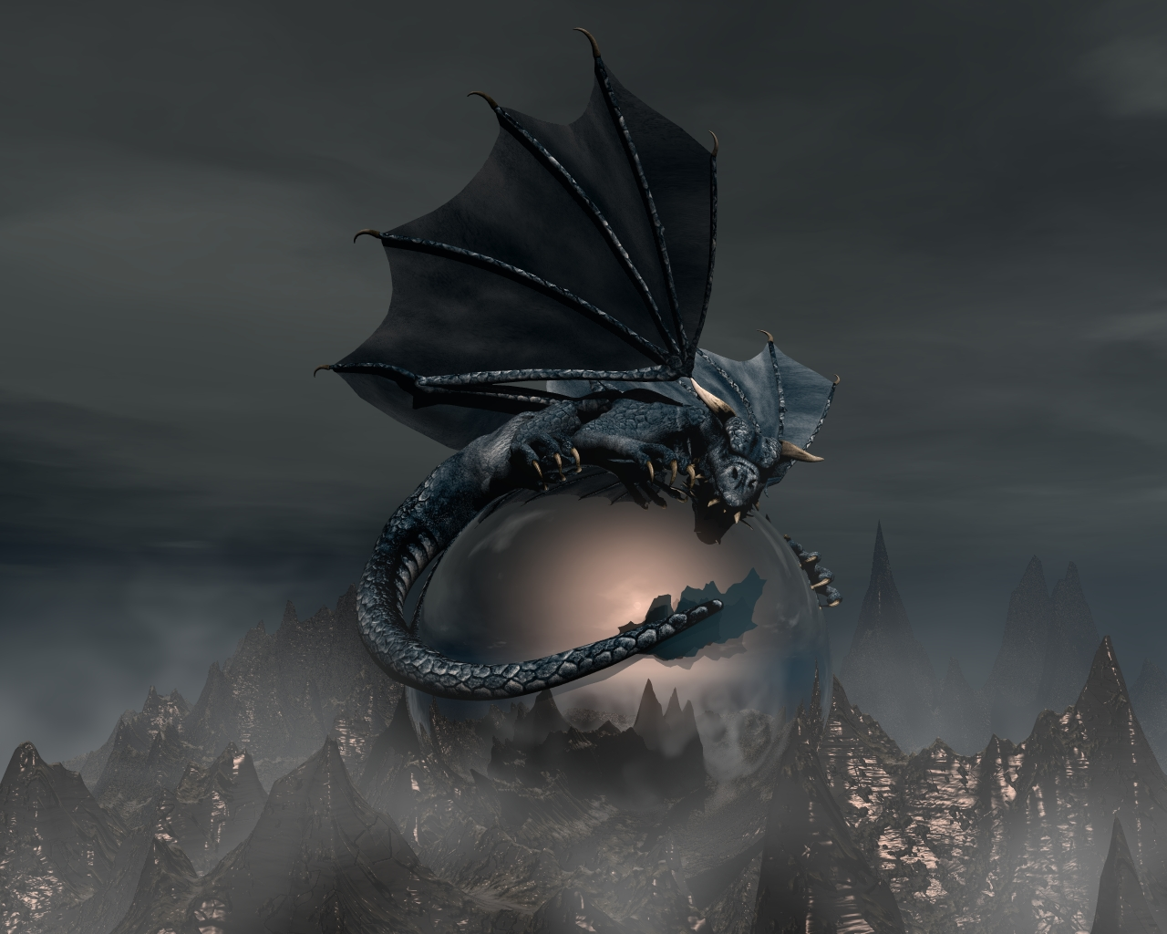 3d dragon wallpaper wallpapersafari - 3d fantasy wallpaper ...