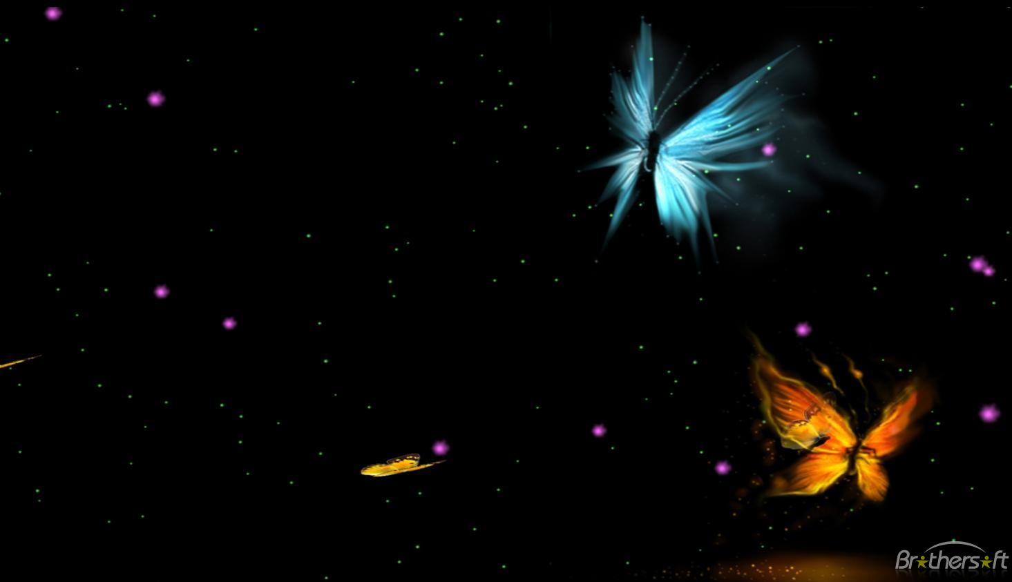 Wallpaper Fantastic Butterfly Animated Wallpaper 10 Download 1465x843