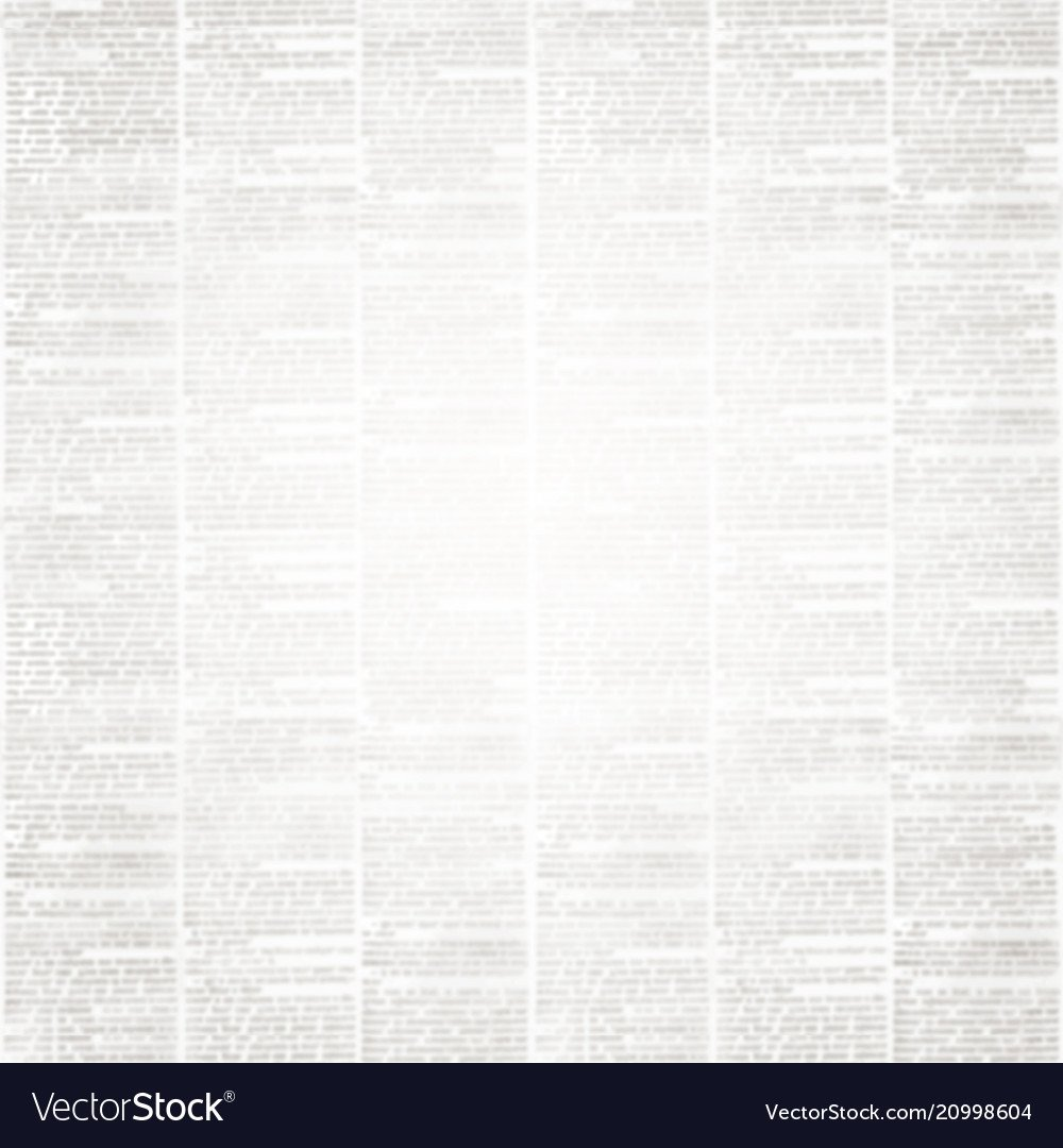 Newspaper paper background with space for text Vector Image 1000x1080