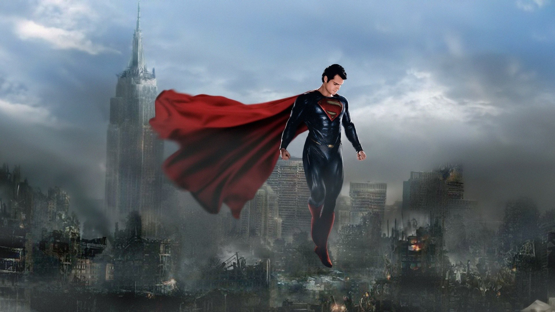 Superman Man Of Steel Wallpaper Hd 1920x1080 [50+] Free Superman Sc...
