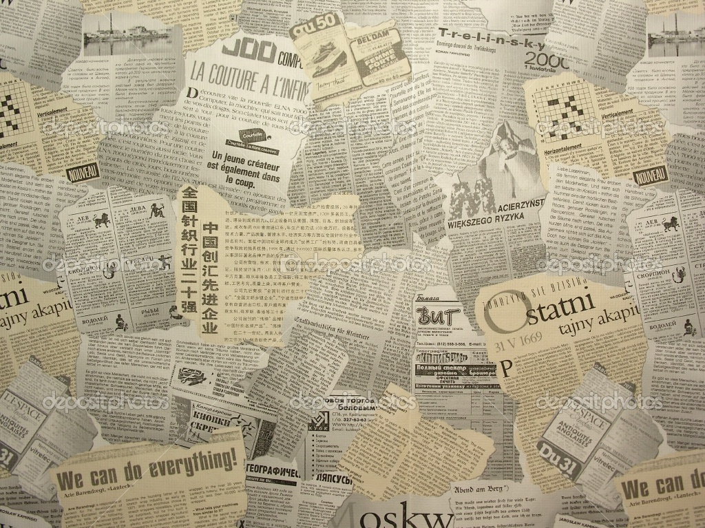 Old Newspaper Wallpaper WallpaperSafari – Vintage Newspaper