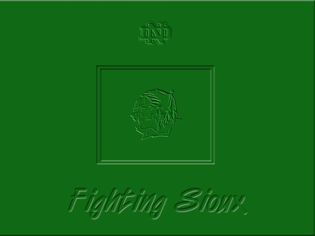 Fighting Sioux Wallpaper 1024x768