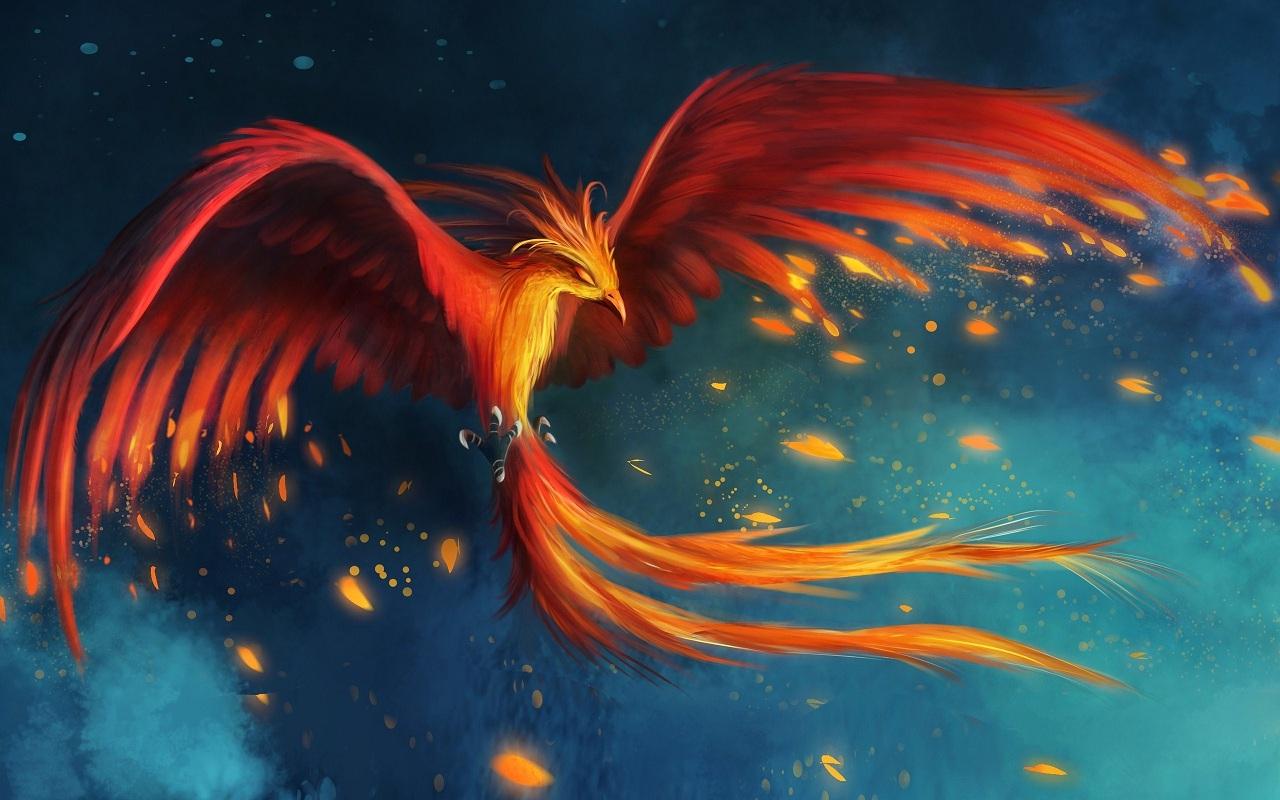 Phoenix Bird Wallpapers Wallpapersafari