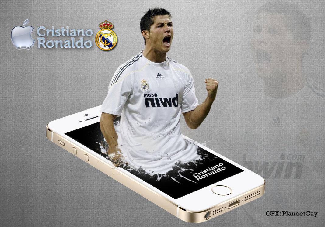 Cristiano Ronaldo Apple iPhone wallpaper by PlaneetCay 1068x747