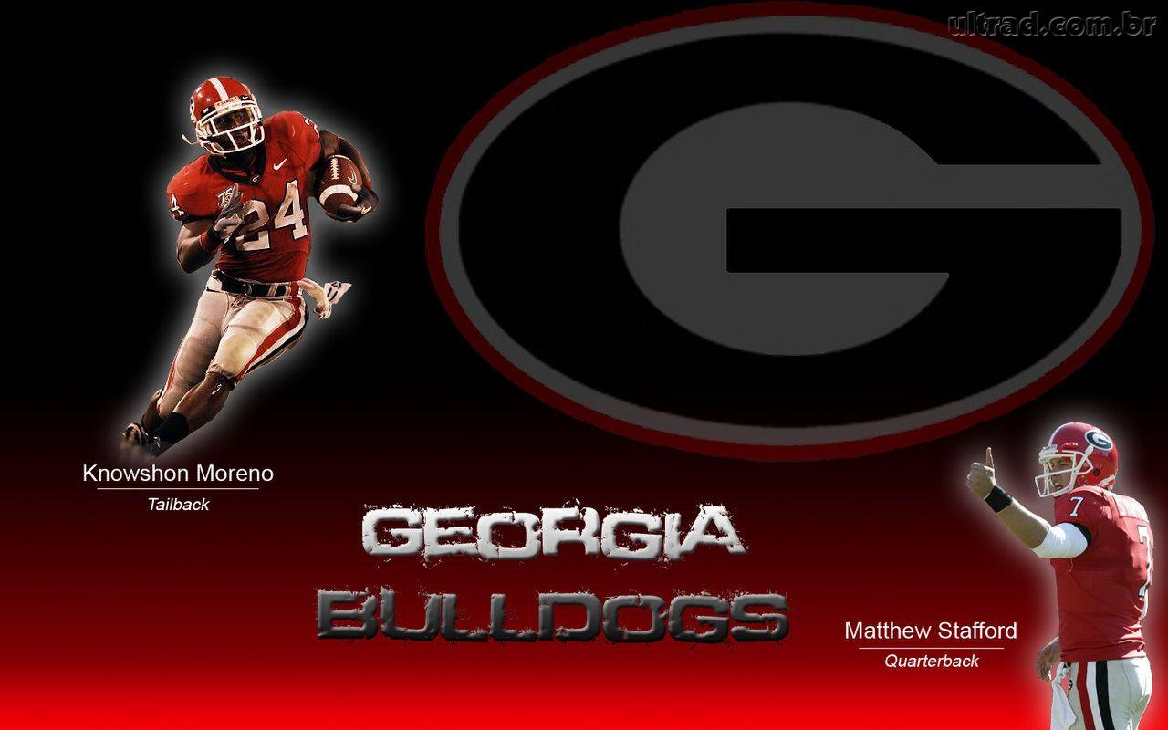Papel de Parede Georgia Bulldogs 1280x800