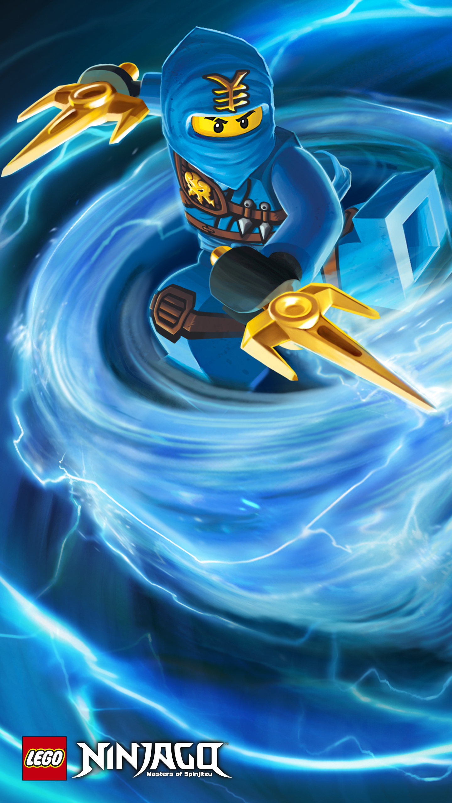 1440x2560 Quad Hd Google Nexus 6 Wallpapers Ninjago Jay