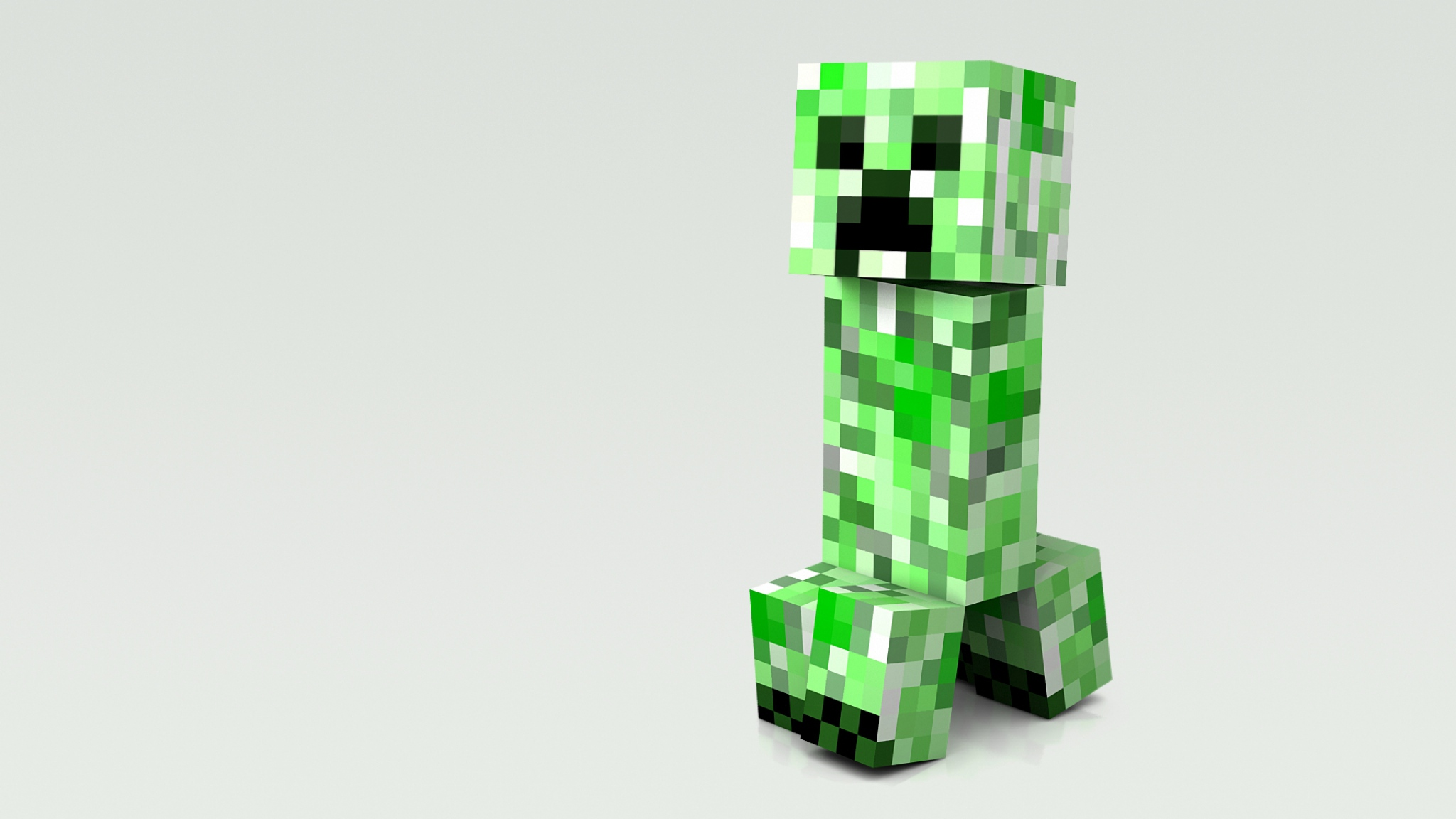 Download Wallpaper 2048x1152 Minecraft Cubes People Man HD HD 2048x1152