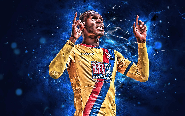 Download wallpapers Christian Benteke goal Belgian footballers 2880x1800