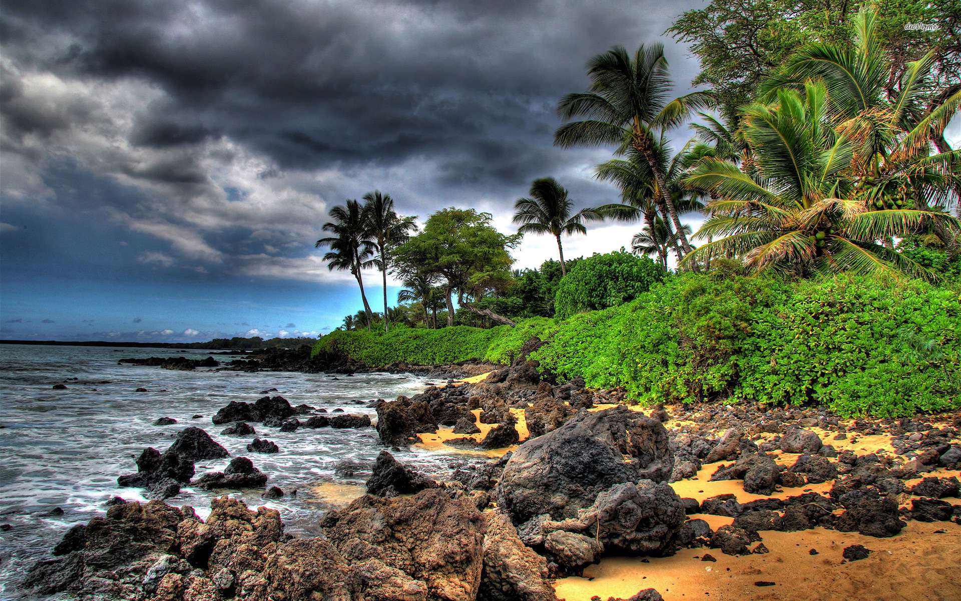 Hawaii Beach Wallpaper Hd Free: Maui Hawaii Desktop Wallpaper