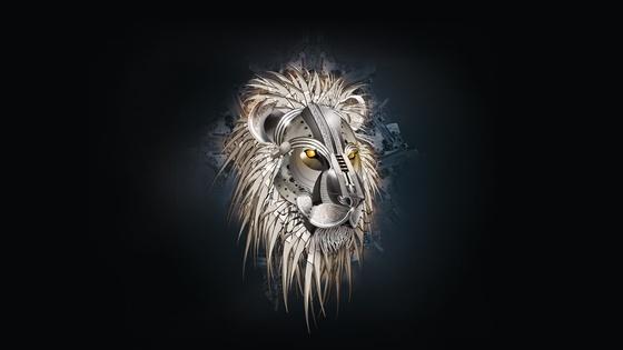 lion theme wallpaper windows screensaver lions gallery 560x315