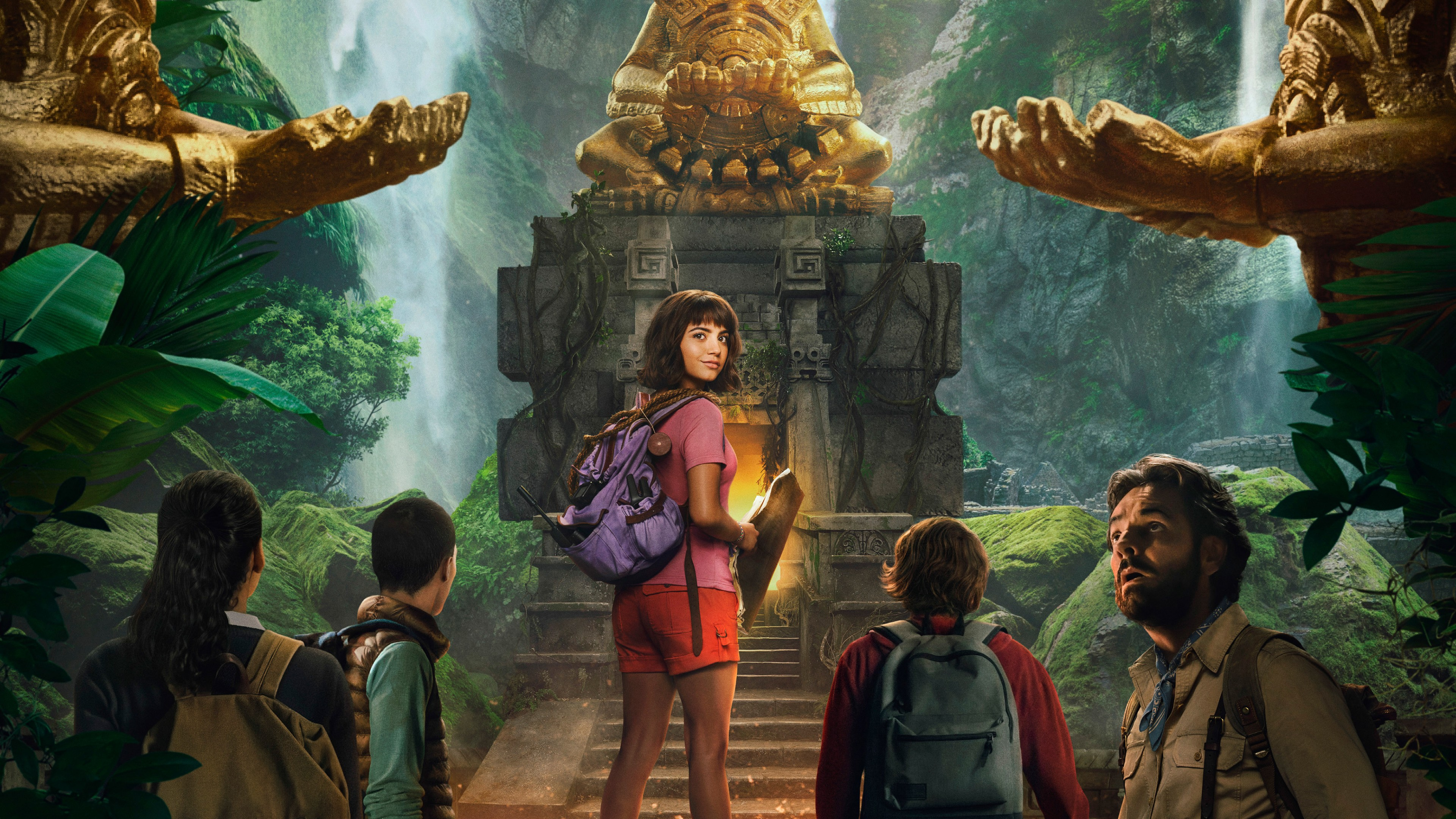 Dora And The Lost City Of Gold Poster HD Wallpaper 4K 3840x2160