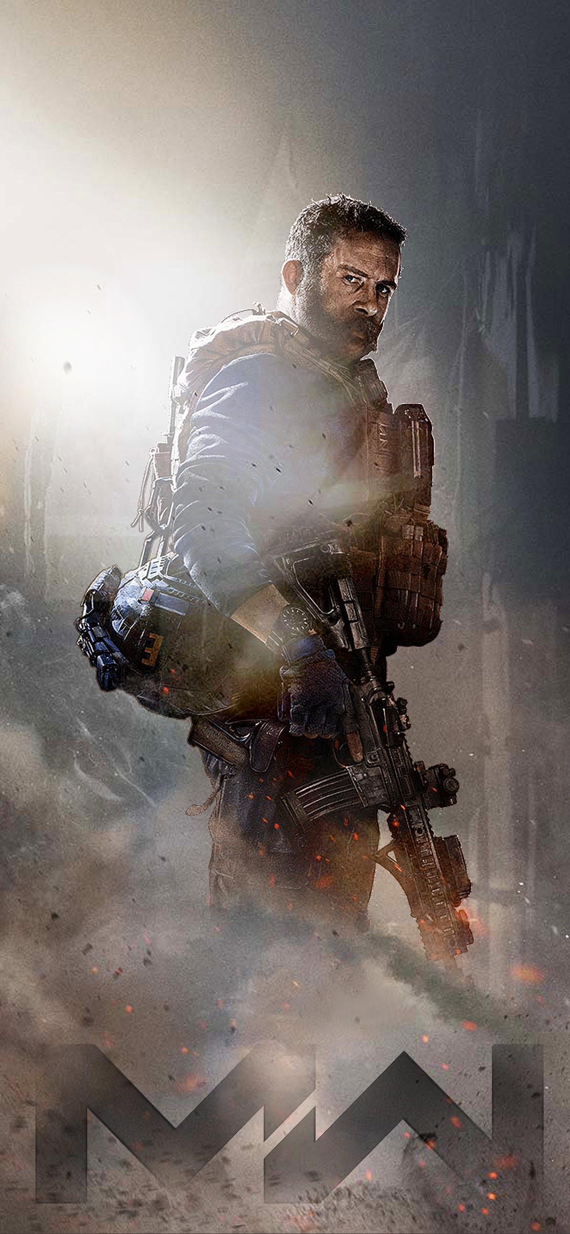 Call of Duty Modern Warfare iPhone Wallpapers   Top Call of 1125x2436
