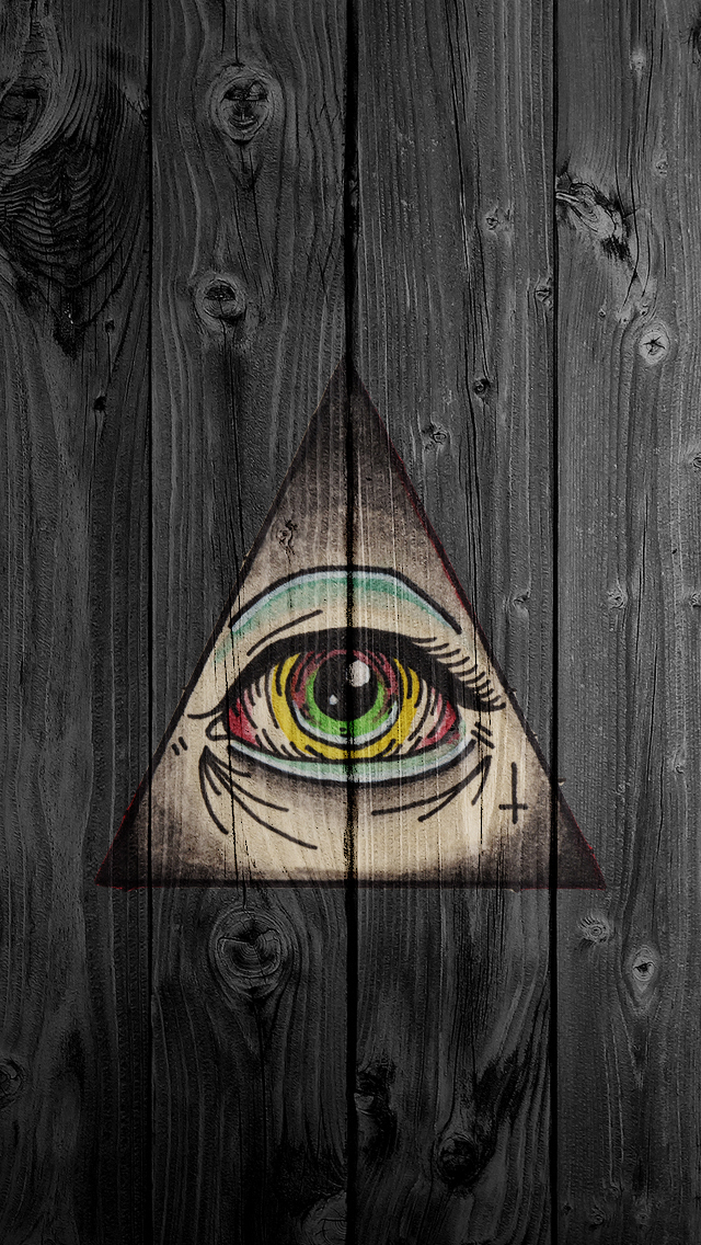 Third Eye Symbol iPhone 5 Wallpaper 640x1136 640x1136