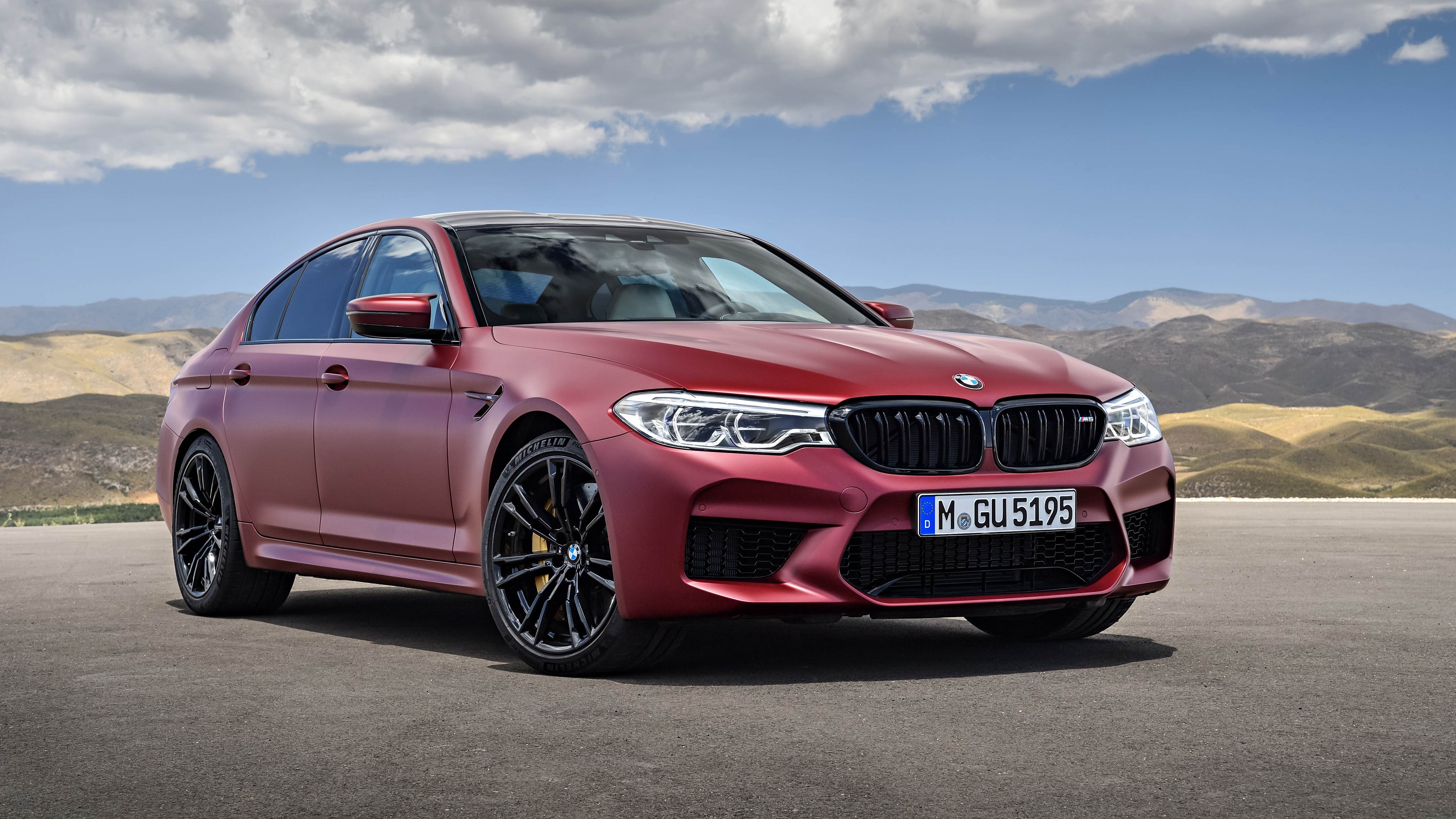 2018 BMW M5 First Edition Wallpaper HD Car Wallpapers ID 8274 4096x2304