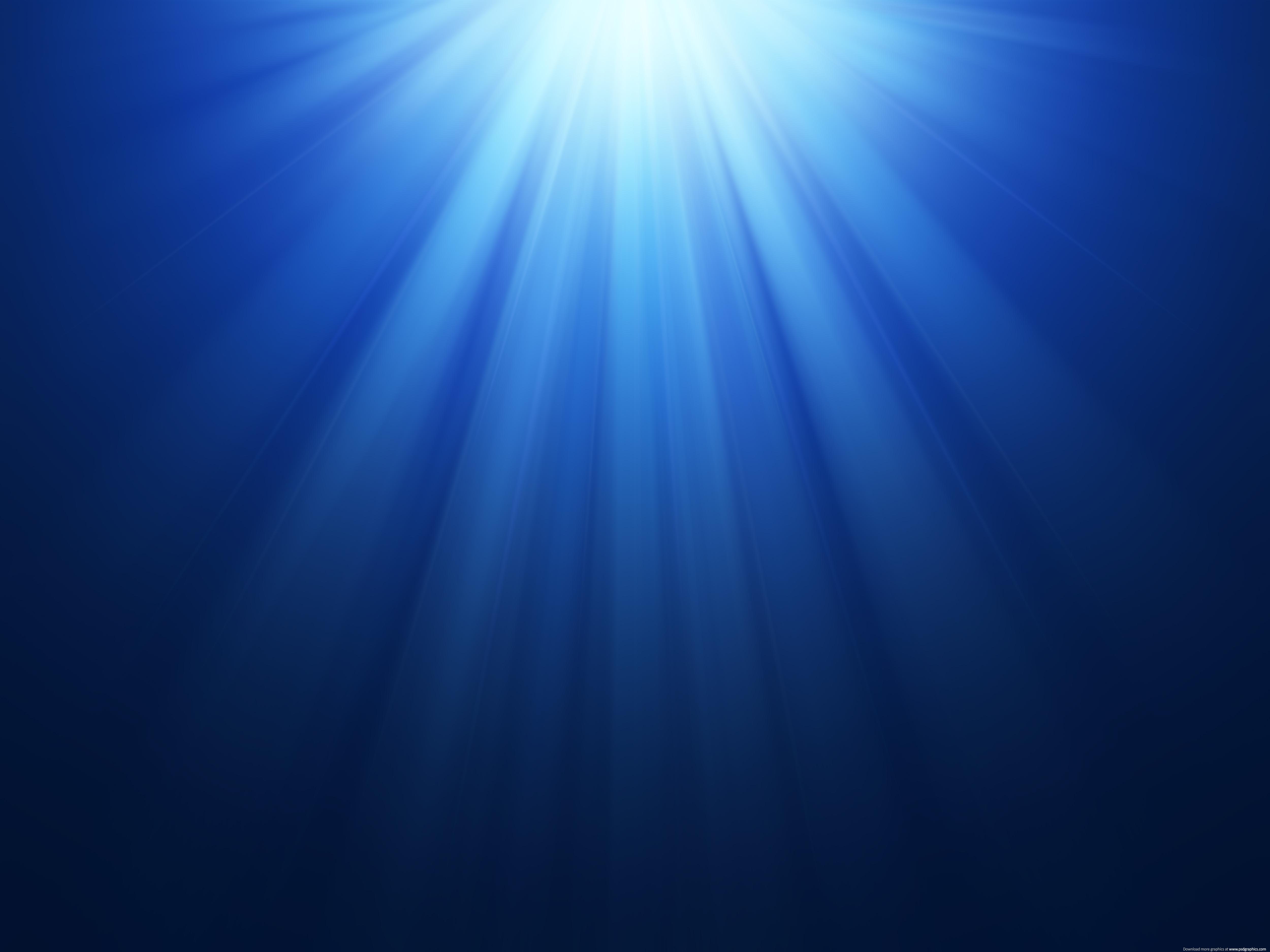 Beautiful blue rays background PSDGraphics 5000x3750