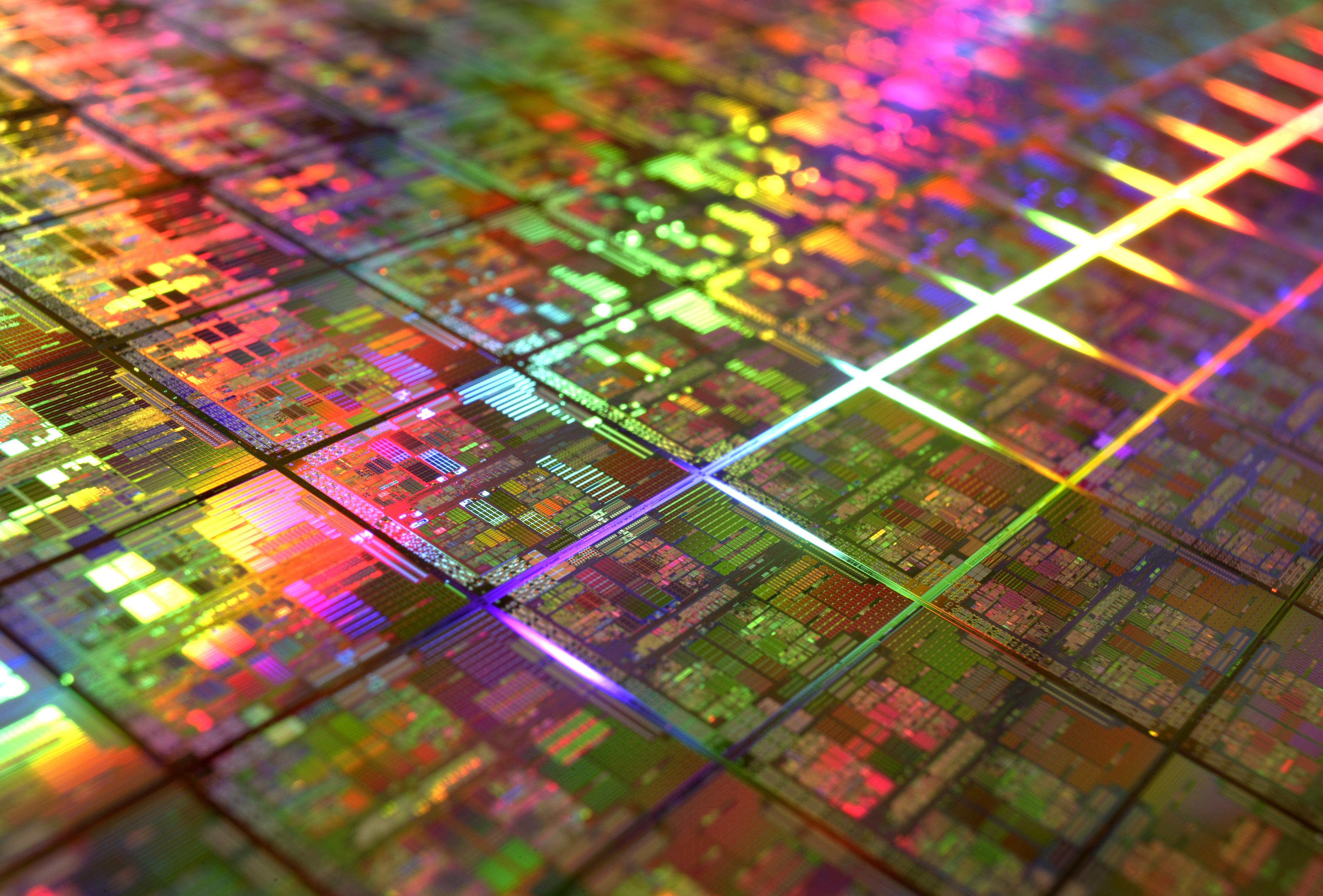 4K wallpaper   Hi tech   chip circuit board   4380x2968 4380x2968