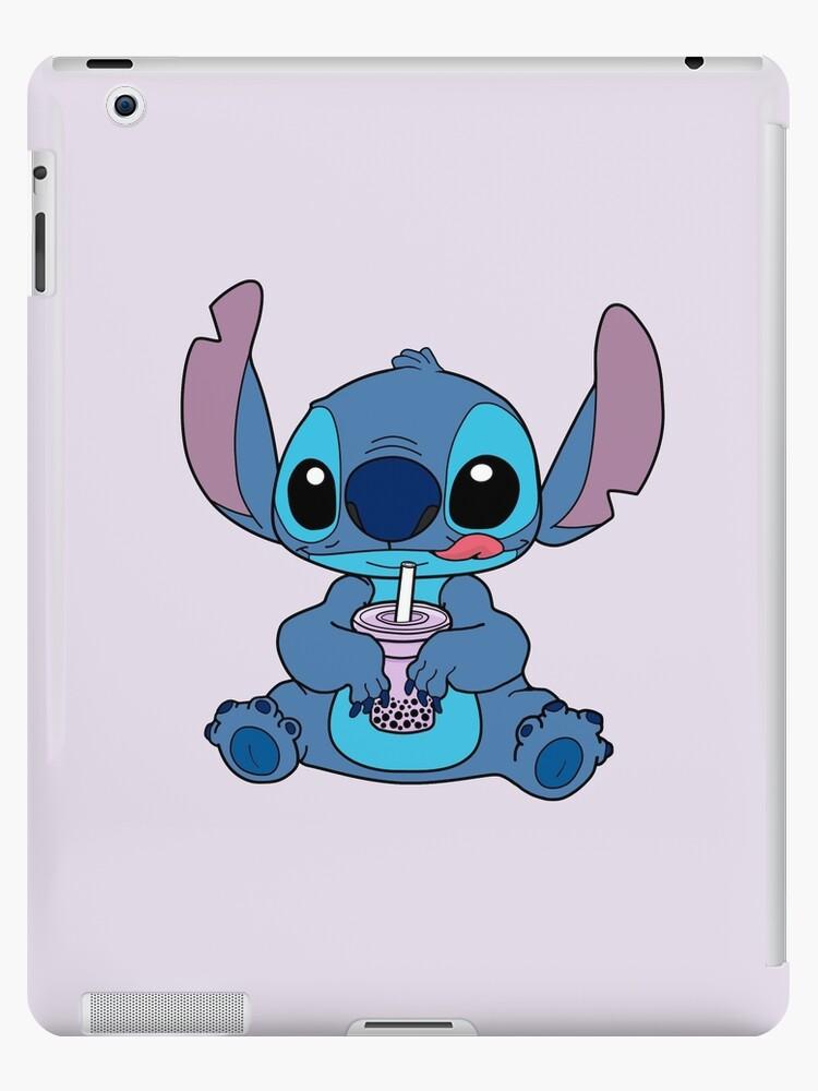 Stitch With Taro Boba Drink iPad Case Skin by lojains Redbubble 750x1000