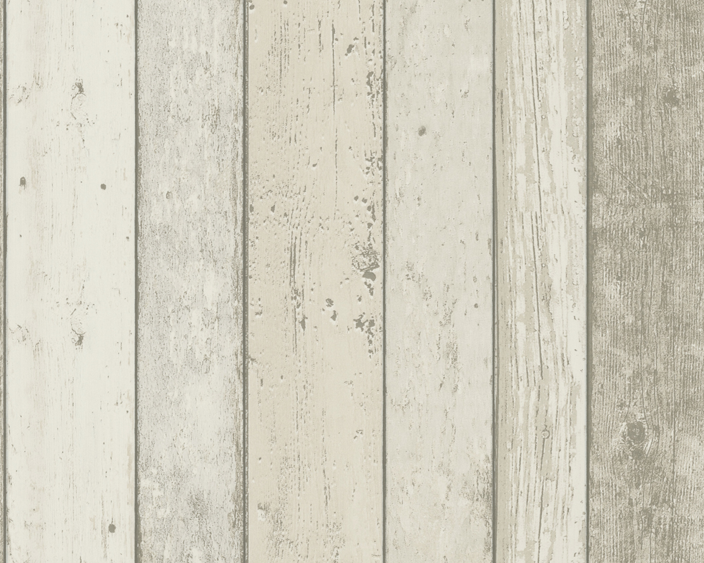 Distressed White Wood Panel Effect Wallpaper 8951-10 - White Wood Panel Wallpaper - WallpaperSafari