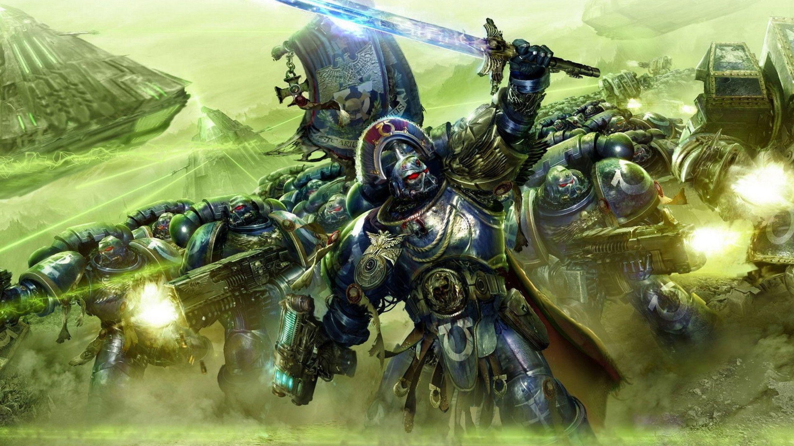 Space Marines Wallpapers 2560x1440