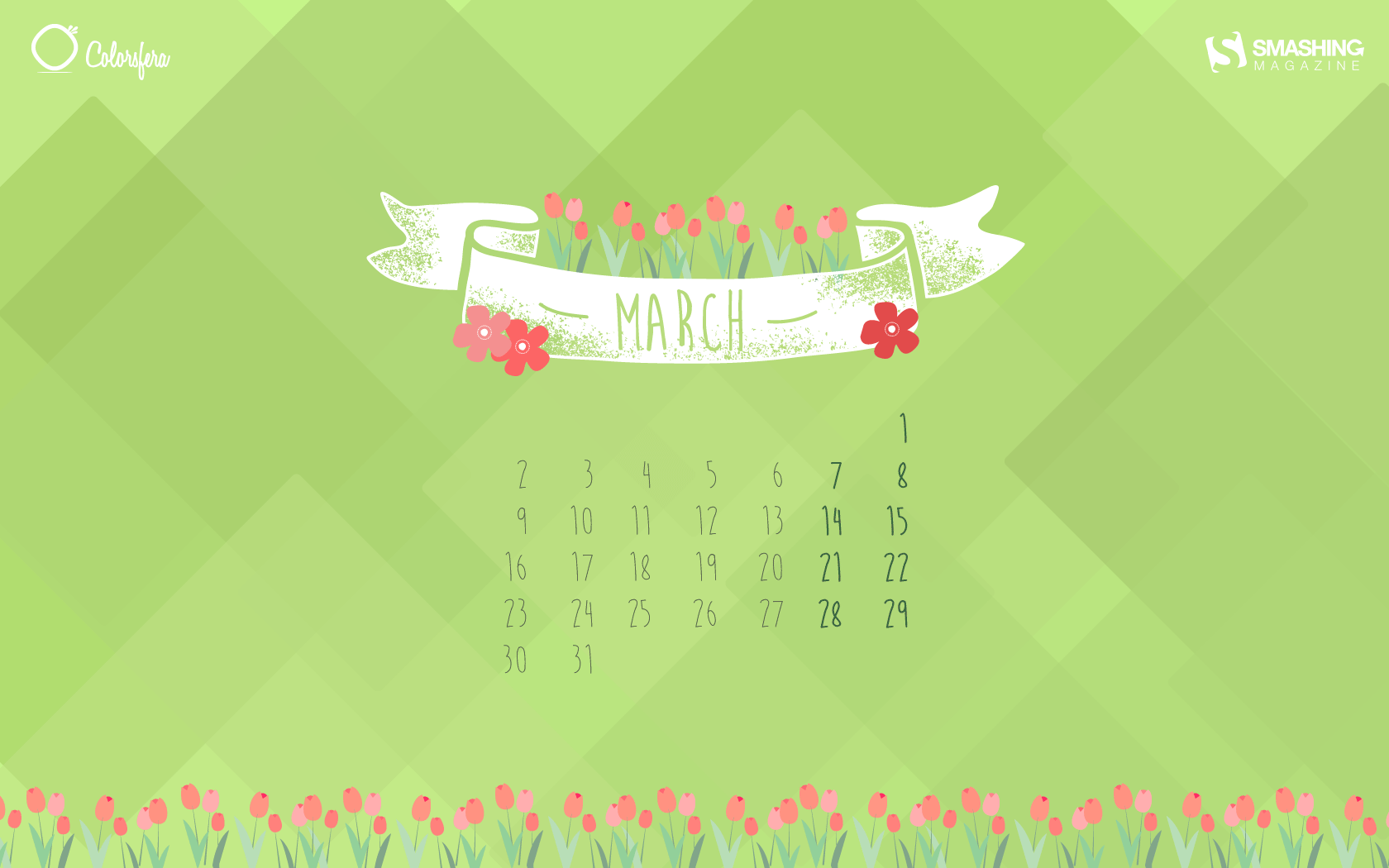 Desktop Wallpaper Calendars: March 2015 – Smashing Magazine