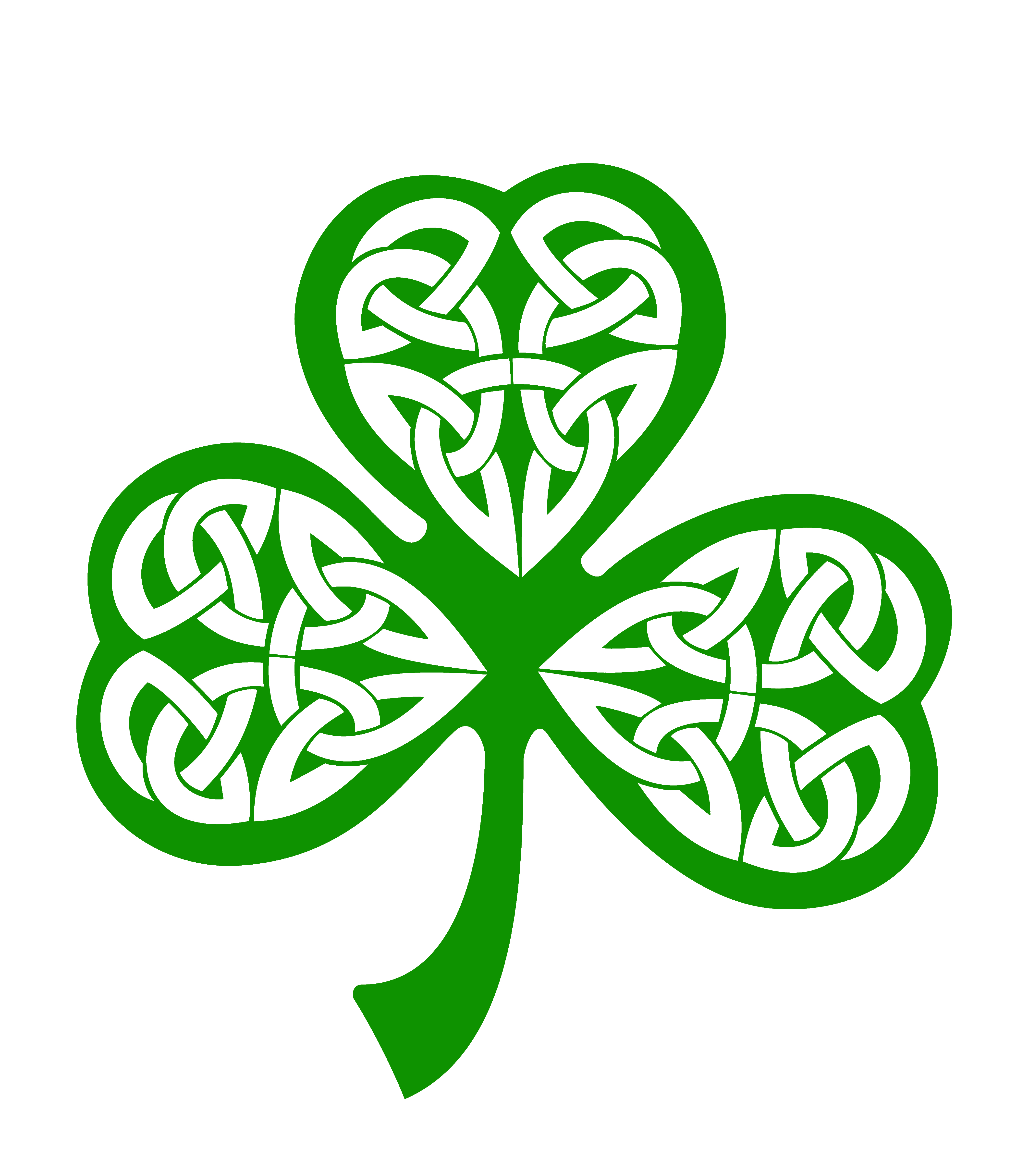 Irish Shamrocks Iphone Wallpaper Background And 4200x4800