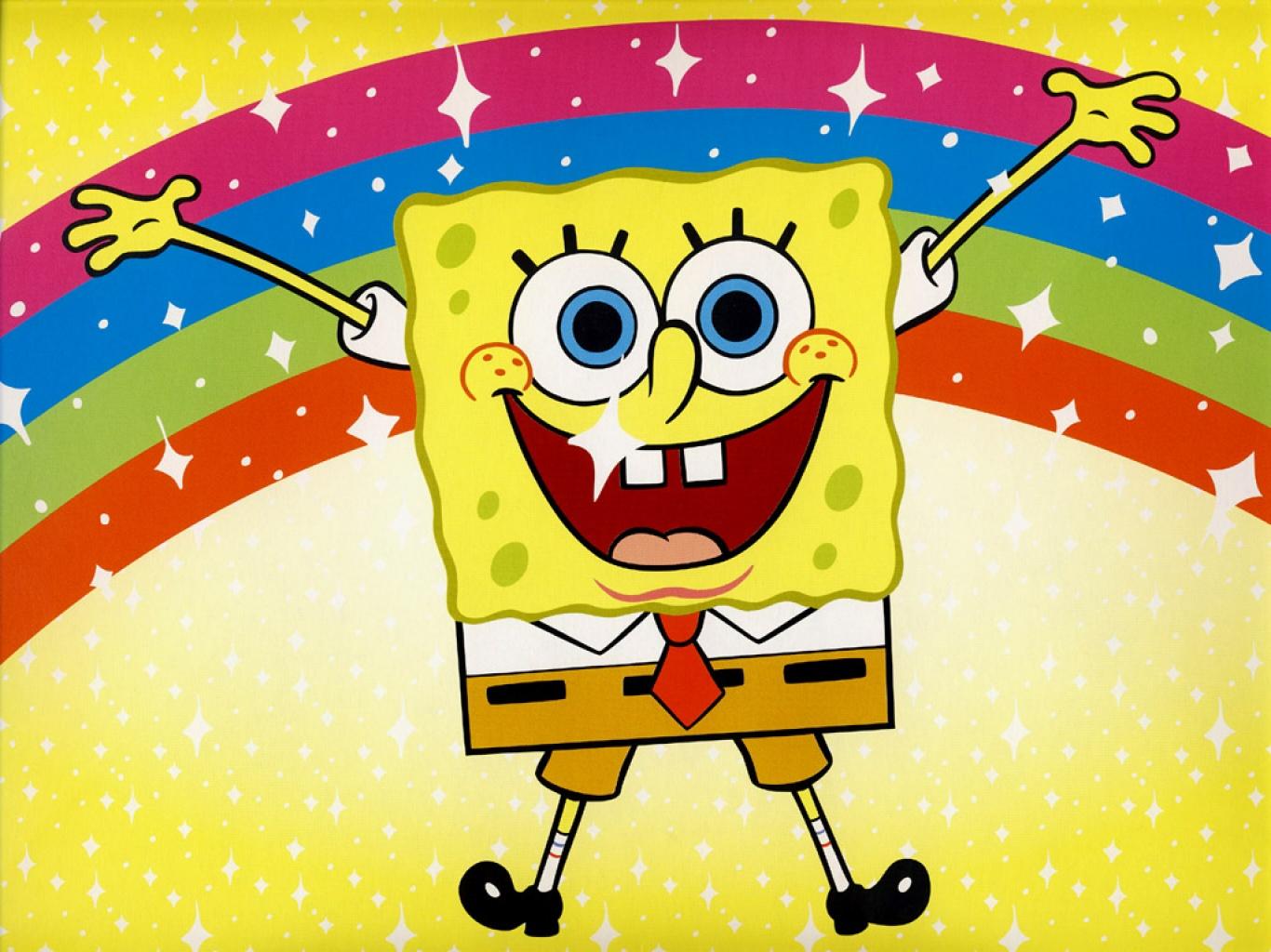 Spongebob Wallpaper HD Background 1366x1024