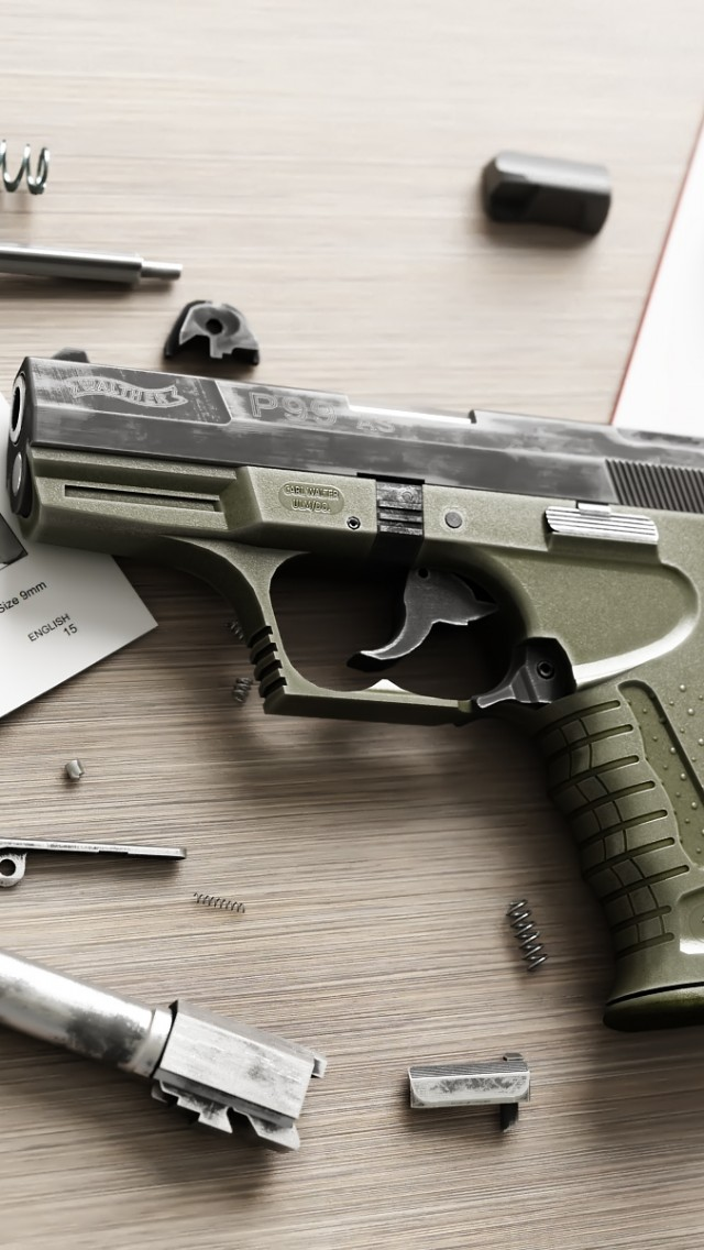 Walther P99 WOG wallpapers 640x1136