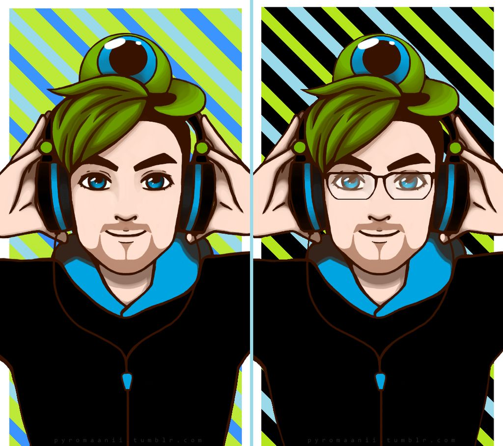 Jacksepticeye wallpapers by pyromaanii 1024x908