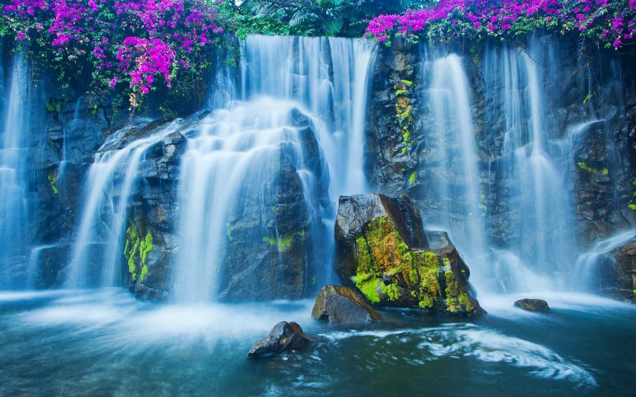 Live Wallpaper for android 3D Waterfall Live Wallpaper 10 download 1280x800