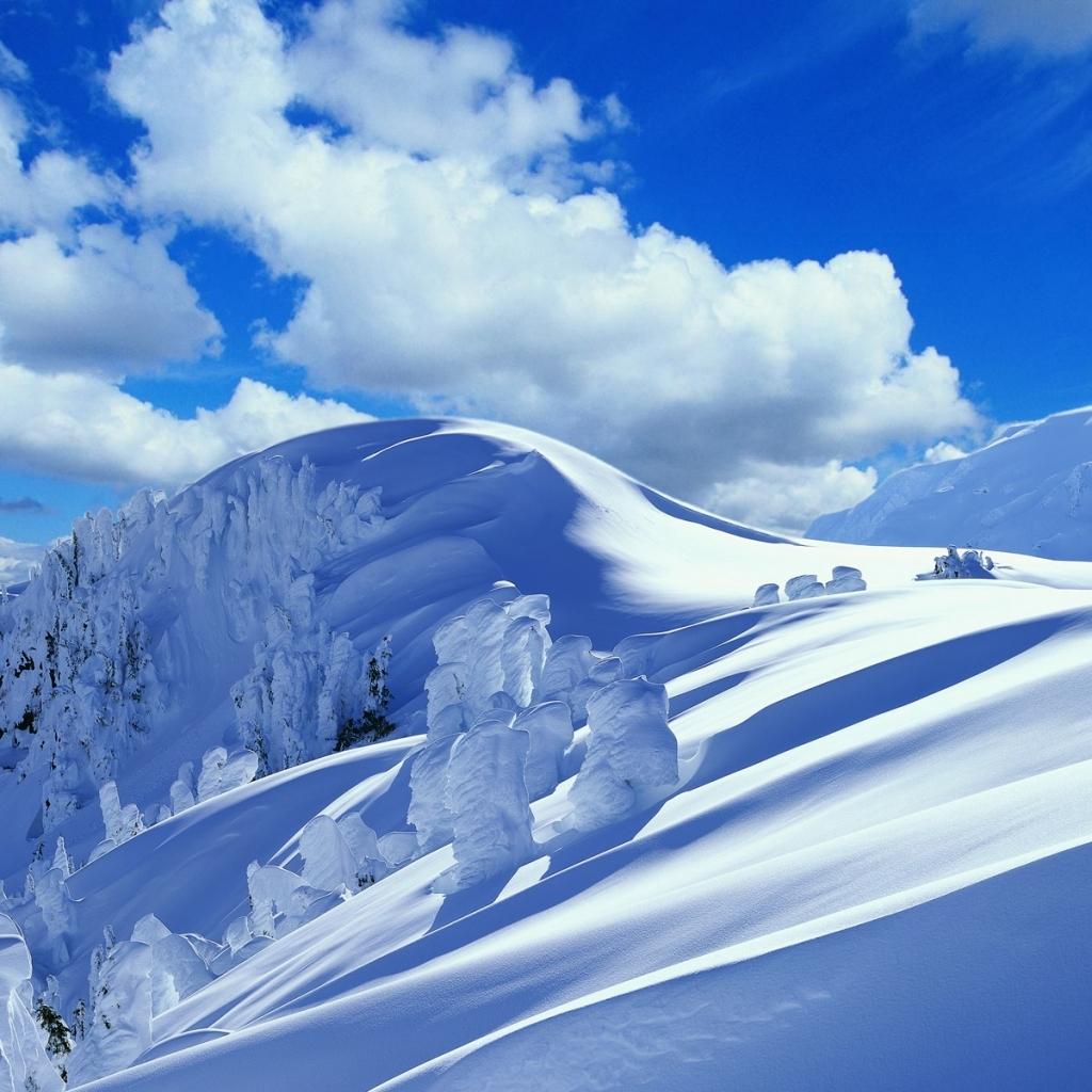 75] Snowy Mountains Wallpaper on WallpaperSafari 1024x1024