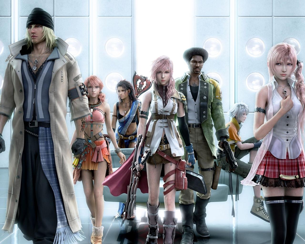 Final Fantasy XIII images FF XIII Wallpaper wallpaper photos 32680107 1280x1024