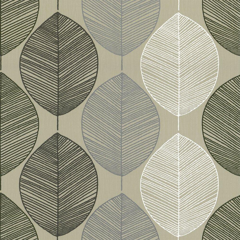 Home Wallpaper Arthouse Arthouse Retro Leaf Wallpaper 1000x1000