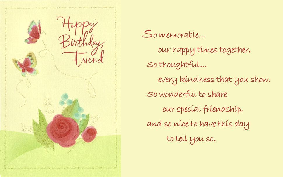 Happy Birthday Friend wallpaper   ForWallpapercom 969x606