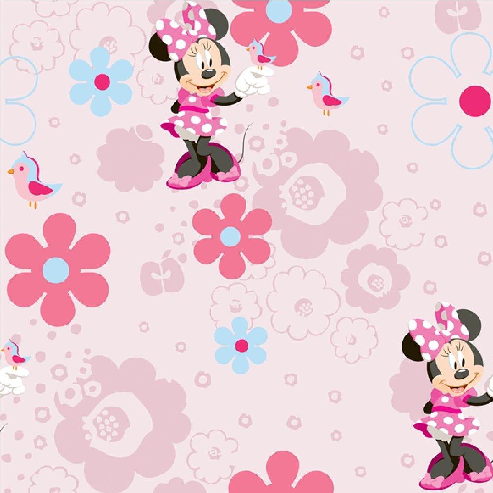 Wallpaper Disney Disney Minnie Mouse Spring Walk Wallpaper 1000x1000
