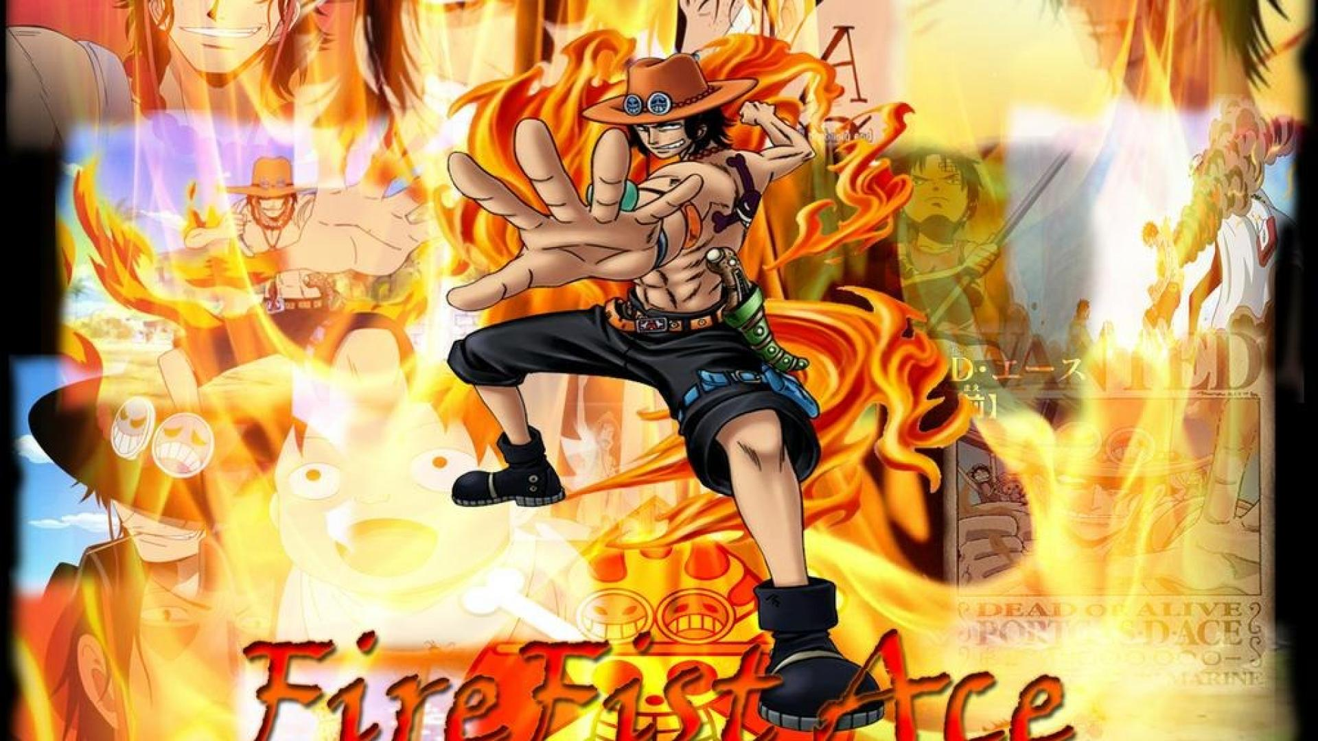 One Piece Ace Wallpaper Wallpapersafari