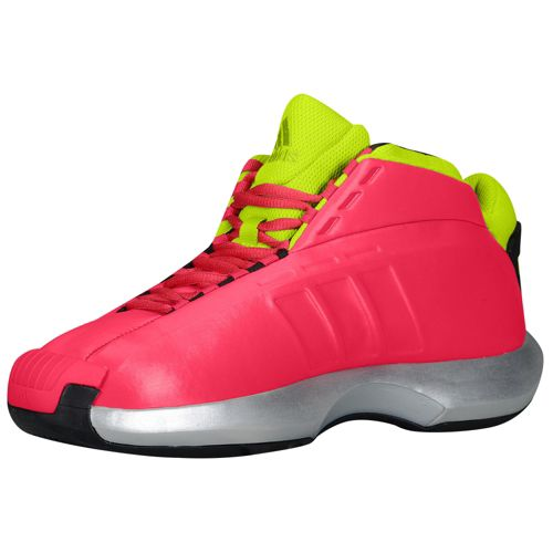 Adidas Crazy 1 Men Basketball Shoes Vivid Berry Solar 500x500